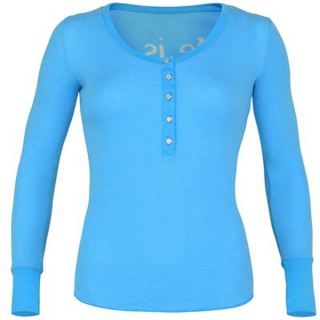 K-Swiss Women's Life Is Henley (Lt Blue)
