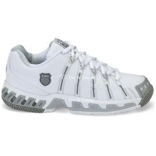 K Swiss Women S Stabilor Sls Tennis Shoe White Platinum Do It