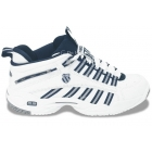 K-Swiss Women's Ultrascendor Mid Shoes (Wht/Slv/Nvy) - Women's Tennis Shoes