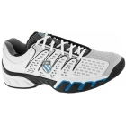 K-Swiss Men's Bigshot II Shoes  (White/ Grey/ Black/ Blue) - K-Swiss