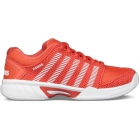 K-Swiss Junior Hypercourt Express Tennis Shoe (Fiesta/White) - Tennis Shoes for Kids