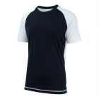 K-Swiss Men's Backcourt Tennis Crew (White/Black) - Tennis Apparel Brands