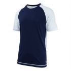 K-Swiss Men's Backcourt Tennis Crew (White/Navy) - Tennis Apparel Brands
