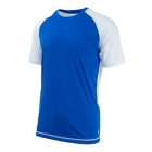 K-Swiss Men's Backcourt Tennis Crew (White/Royal Blue) - Tennis Apparel Brands