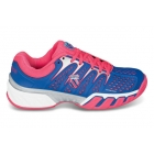 K-Swiss Women's Bigshot II Tennis Shoes (Blue/ Red/ White) - K-Swiss Tennis Shoes