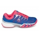 K-Swiss Women's Bigshot II Tennis Shoes (Blue/ Red/ White) - K-Swiss Bigshot Tennis Shoes