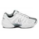 K-Swiss Women's Bigshot Light Tennis Shoe (White/ Silver) - Shoes