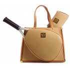 Court Couture Karisa Cafe au Lait Tennis Bag - Court Couture Tennis Bags