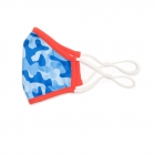 Ame & Lulu Kids Cool Fit Face Mask (Blue Camo) - Sports Towels, Wraps & Face Masks