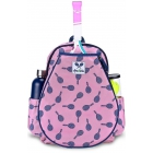 Ame & Lulu Little Love Junior Tennis Backpack (Mini Racquets) - Ame & Lulu Little Love Junior Tennis Backpack for Girls