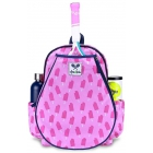 Ame & Lulu Little Love Junior Tennis Backpack (Purple Pops) - Ame & Lulu Little Love Junior Tennis Backpack for Girls