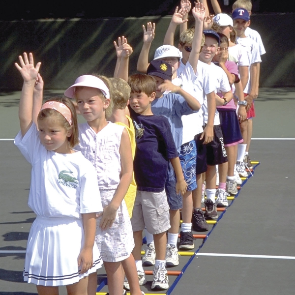 OnCourt OffCourt KidzLadder - Junior Tennis Training Aid