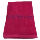 40 Love Courture Phrase Tennis Towel (Kiss My Ace) - Tennis Accessories