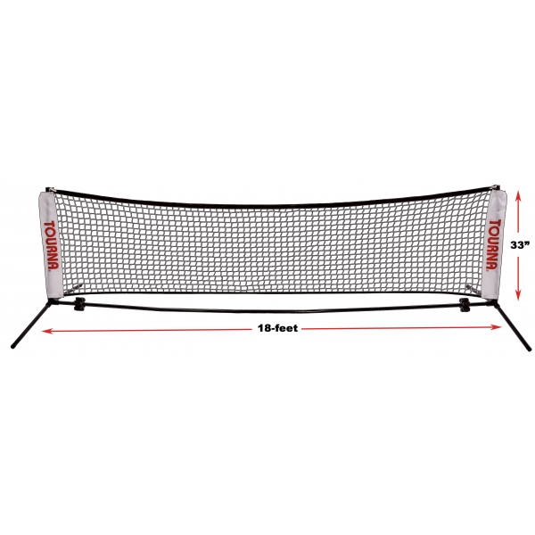 Tourna 18-Foot Portable Youth Tennis Net