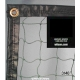 Knotted Nylon Divider Curtains # 3140 - Courtmaster Tennis Court Dividers