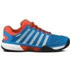 K-Swiss Men's Hypercourt Express Tennis Shoes (Blue/ Red/ White) - Men's Tennis Shoes