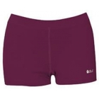 DUC Floater 2.5 Women's Compression Shorts (Maroon) - DUC Women's Team Tennis Shorties