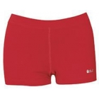 DUC Floater 2.5 Women's Compression Shorts (Red) - DUC Women's Team Tennis Shorties