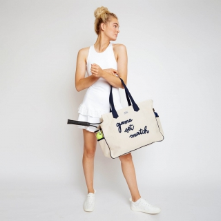 Ame & Lulu Love All Tennis Backpack (Game Set Match)