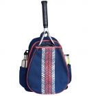 Ame & Lulu Pink Shutters Love All Tennis Backpack - Women's Tennis Backpacks