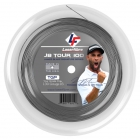 Laserfibre JB Tour 100 16g Silver Tennis String (Reel) - Tennis String Brands
