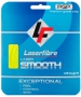 Laserfibre Laser Smooth 16g Optic Yellow Tennis Racquet String (Set) - Laserfibre Tennis Racquet String