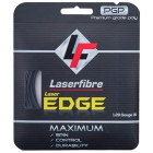 Laserfibre Laser Edge 17g Anthracite Tennis Racquet String (Set) - Tennis String Type