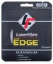 Laserfibre Laser Edge 17g Anthracite Tennis Racquet String (Set) - Laserfibre Polyester Tennis String Sets