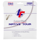 Laserfibre Native Tour 17g Pearl White Tennis String (Set) - Laserfibre Tennis Racquet String