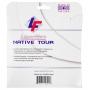 Laserfibre Native Tour 16g Pearl White Tennis String (Set)
