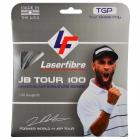 Laserfibre JB Tour 100 17g Silver Tennis String (Set) -