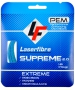 Laserfibre Supreme 2.0 17g Blue Tennis Racquet String (Set) - Arm Friendly Strings