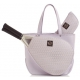Court Couture Savanna Perforated Lilac - Designer Tennis Bags