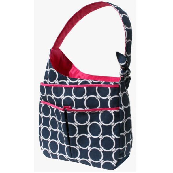 40 Love Courture Links Navy Sophi Hobo