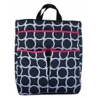 40 Love Courture Links Navy Sophi Tote - Designer Tennis Bags - Luxury Fabrics and Ultimate Functionality
