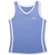 Little Miss Tennis Classic Tank (Lavender/ White) - Girl's Tops Tennis Apparel