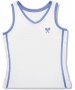 Little Miss Tennis Classic Tank (White/ Lavender) - Little Miss Tennis Tennis Apparel