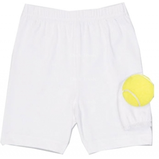 Little Miss Tennis Girls Compression Shorts w. Ball Pocket
