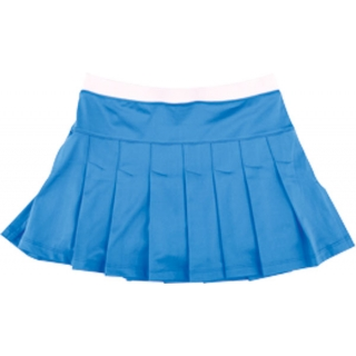 Little Miss Tennis Pleated Skirt w Bikers (Blue)