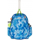 Ame & Lulu Little Love Junior Tennis Backpack (Blue Camo) - Junior Tennis Bags & Backpacks