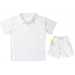 LMT Cotton Pique Polo (White)