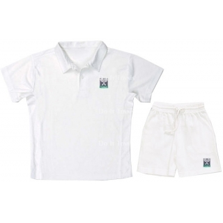 LMT Cotton Pique Polo W/Logo (White)