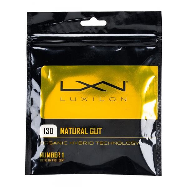 Luxilon Natural Gut 16g Tennis String (Set)