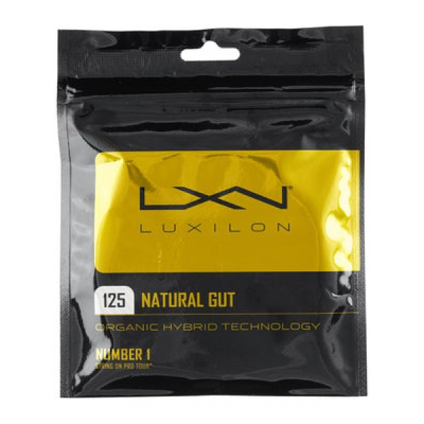 Luxilon Natural Gut 17g Tennis String
