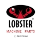Lobster Tennis Ball Machine Round Gear for Motors w/Pin Replacement Part - Lobster Sports Equipment