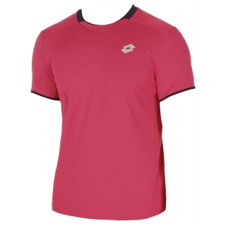 Lotto Men's David Ferrer 1000 T-Shirt (Pink/ Navy)