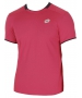 Lotto Men's David Ferrer 1000 T-Shirt (Pink/ Navy) - Lotto Men's Apparel Tennis Apparel