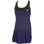 Lotto Women's Nixia Dress (Navy/ Yellow) - Women's Dresses Tennis Apparel