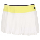 Lotto Women's Nixia Skirt (White/ Yellow) - Lotto Tennis Apparel