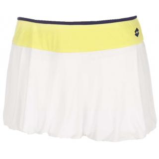 Lotto Women's Nixia Skirt (White/ Yellow)